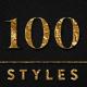 100 Seamless Foil Styles