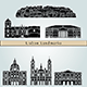 Download Vector Lisbon Landmarks and Monuments