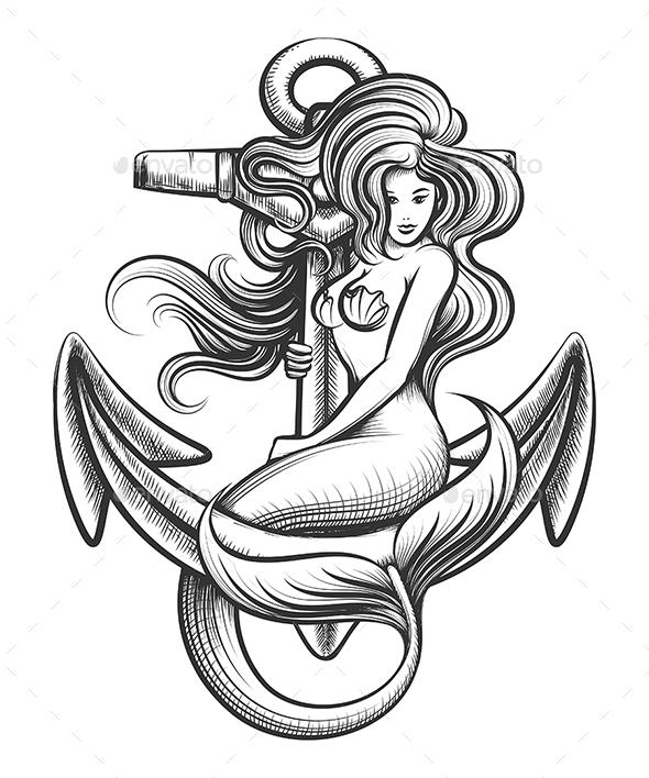 Mermaid on the Anchor