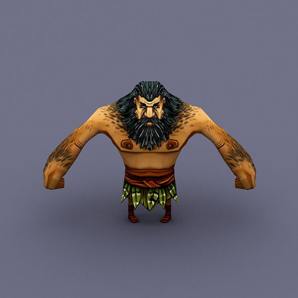 Villager Man 01 - 3DOcean Item for Sale