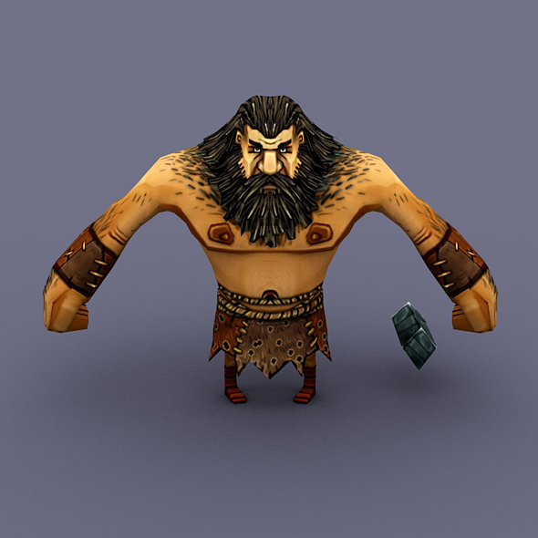 Villager Man 04 - 3DOcean Item for Sale