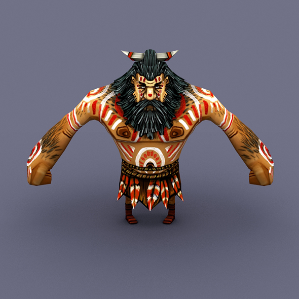 Villager Man 05 - 3DOcean Item for Sale