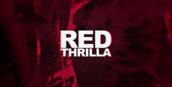 VideoHive Red Thrilla 4K Cinematic Teaser 19000530
