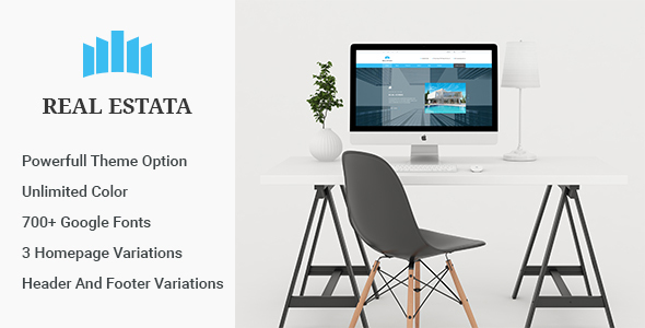 Real Estata - Real Estate WordPress Theme