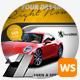 RENT-A-CAR & Car Shop Web Sliders