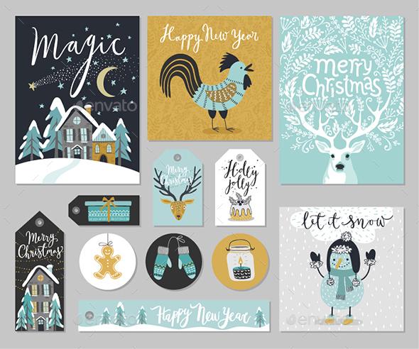 Christmas Card Set