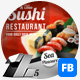 Sushi Food & Restaurant Facebook Covers