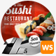 Sushi Food & Restaurant Web Sliders