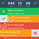 Daily To Do List Planner Reminder iOS App