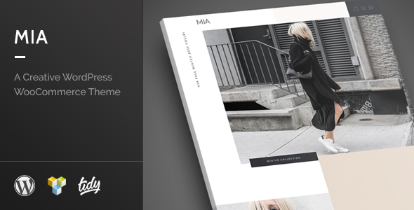 Mia - Creative Fashion WordPress WooCommerce Theme