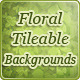 Floral Tileable Backgrounds - GraphicRiver Item for Sale