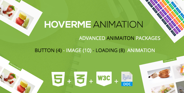 Download HoverMe - A CSS3 Animation Packages