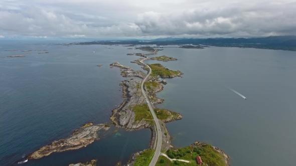 VideoHive Atlantic Ocean Road in Norway 19010833