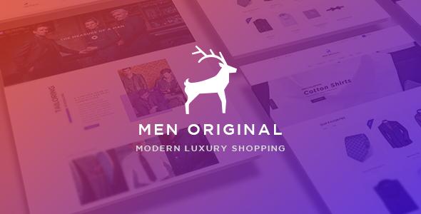Ap Men Original - eCommerce PSD Template