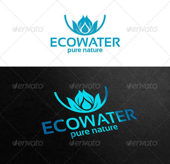 Graphic River Ecowater Logo Templates -  Symbols 1869781