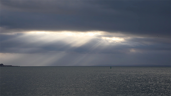 VideoHive The Ssun's Rays Over The Sea 19012832