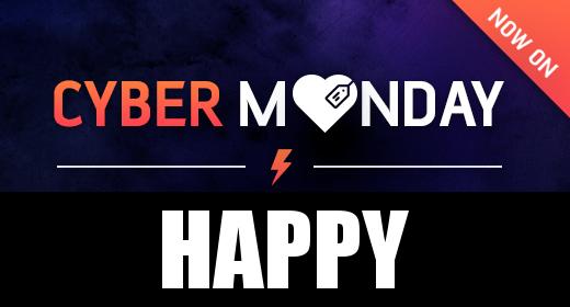 Cyber Monday - Happy