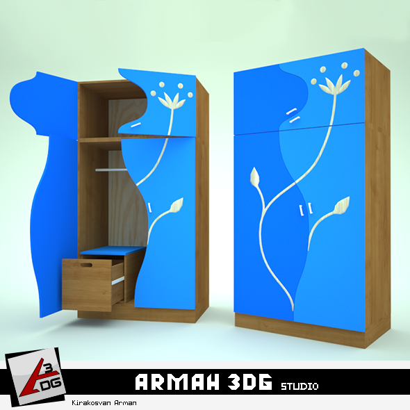 3DOcean Cupboard 19014271