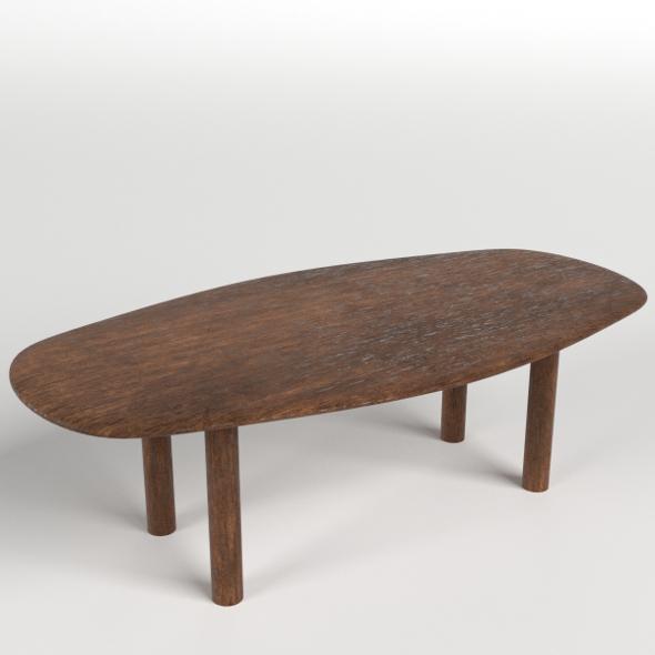 Table, Desk 3 - 3DOcean Item for Sale