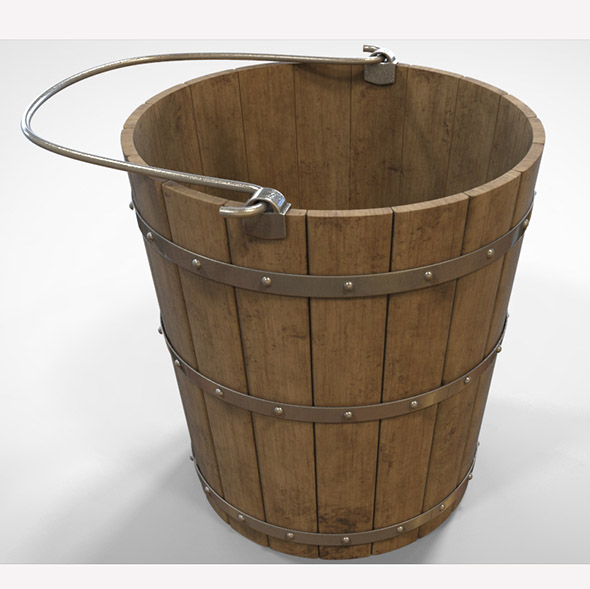 Medieval Bucket - 3DOcean Item for Sale