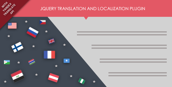 Download jQuery Translation and Localization Plugin with Yandex Translate API nulled download