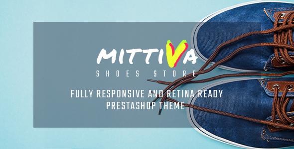 Mittiva - Shoes Store Responsive PrestaShop Theme