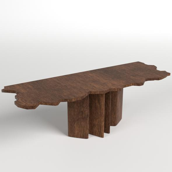 Table, Desk 7 - 3DOcean Item for Sale