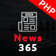 News365 – PHP Newspaper Magazine & Blog PHP Script with Video Newspaper