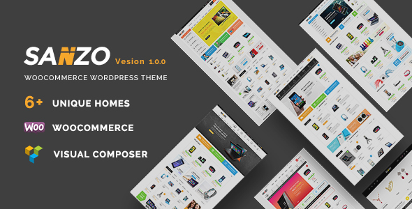 Download Sanzo | Responsive WooCommerce WordPress Theme nulled download