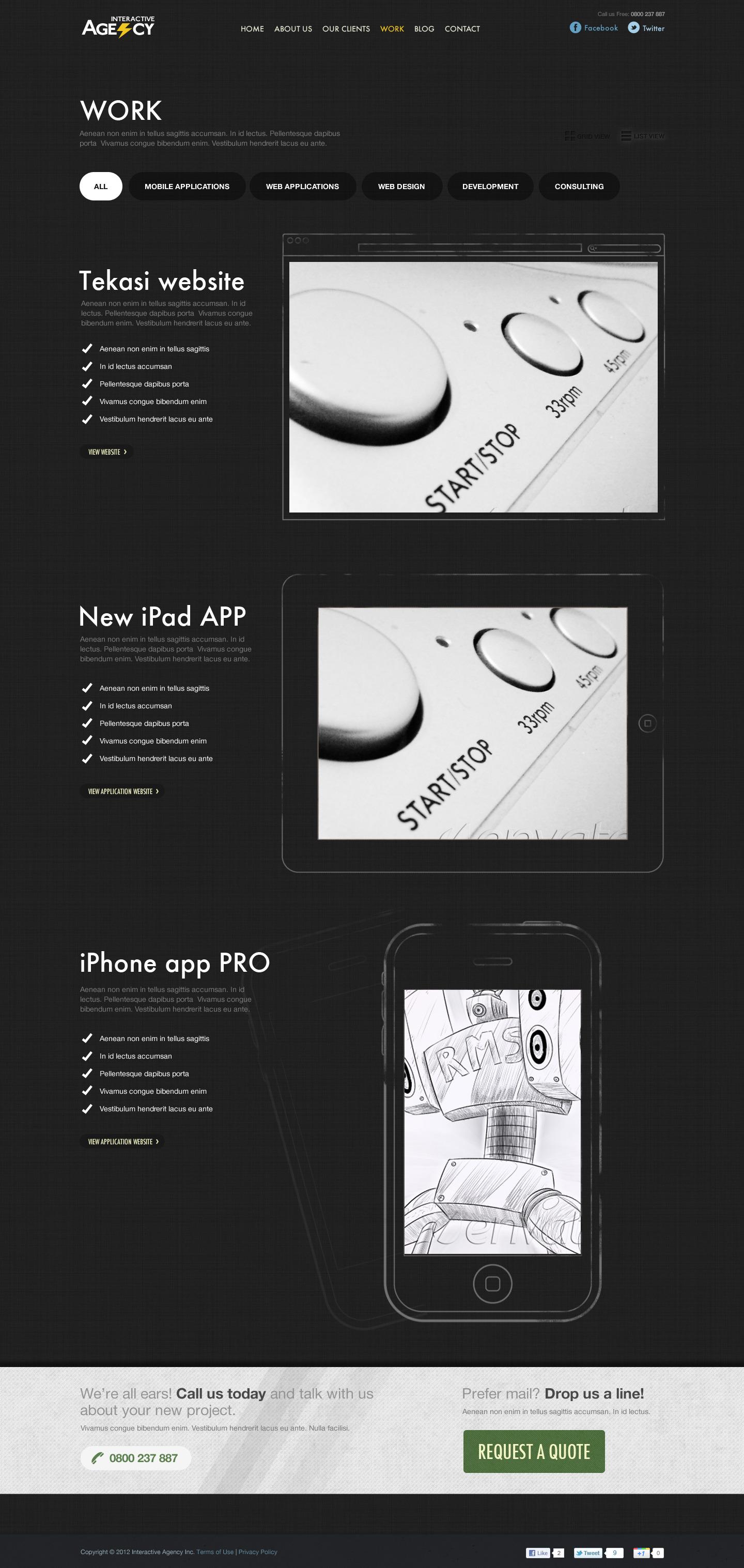 Agency Interactive - Business Portfolio Blog