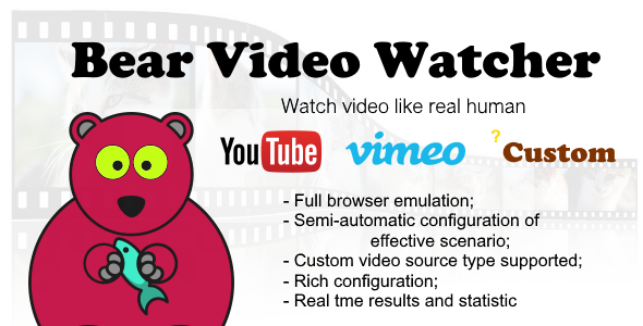 Bear Video Watcher - CodeCanyon Item for Sale