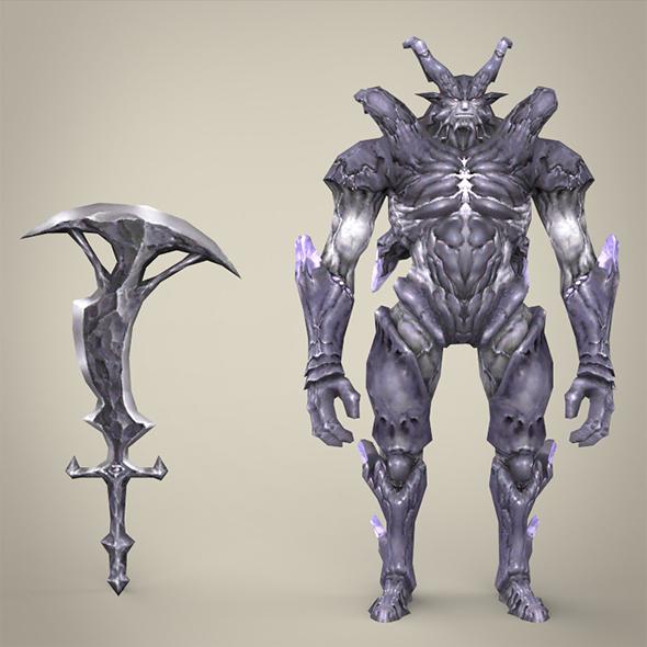 Fantasy Monster Katilaaji - 3DOcean Item for Sale