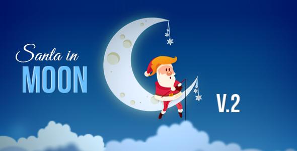 Santa In Moon (Special Events)