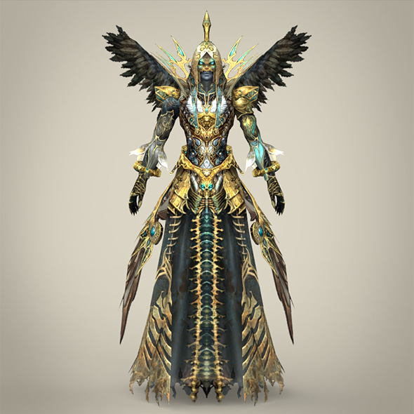 Fantasy Character Bhootnath - 3DOcean Item for Sale