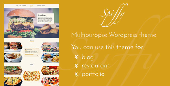 Download Spiffy - Stylish WordPress Theme nulled download