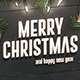 Merry Christmas - Facebook Cover