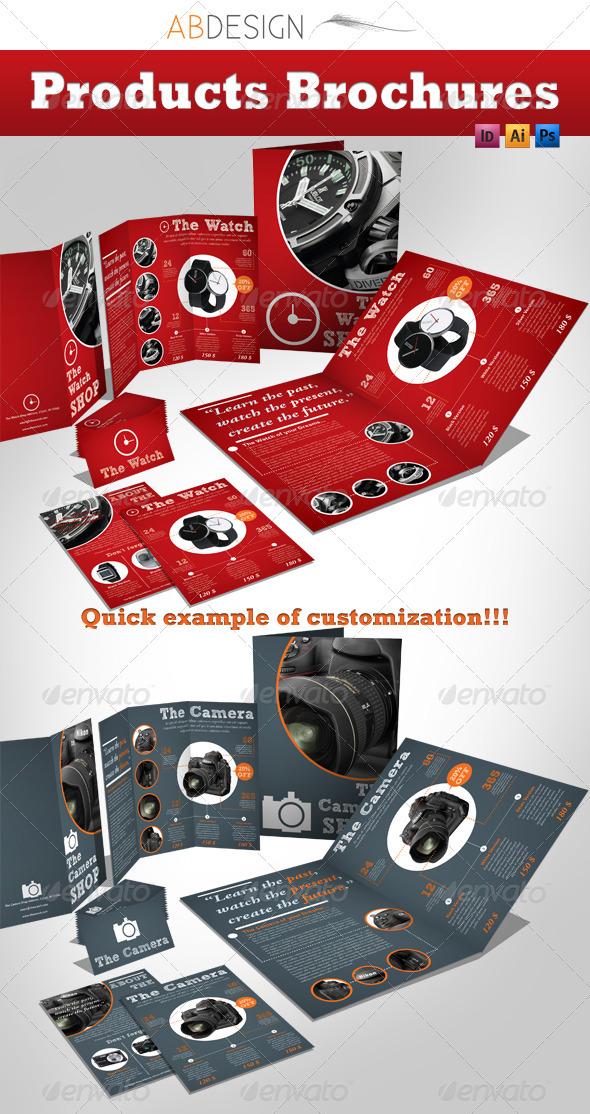 Products Brochures + Trifold + Flyer + Biz Card - Catalogs Brochures