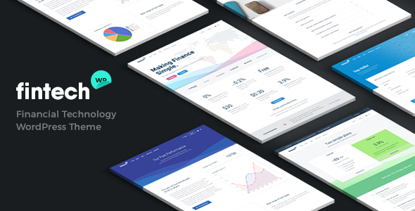 Download Fintech WP - Financial Technology and Services WordPress Theme nulled download