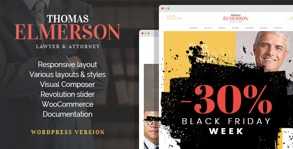 Download Lawyer & Attorney - Personal Lawyer and Law company WordPress Theme