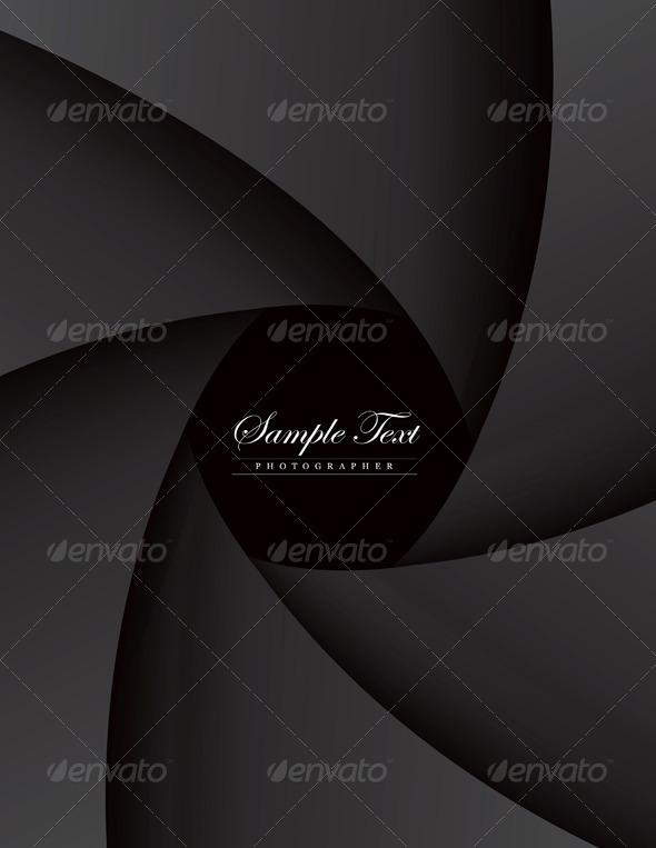 GraphicRiver Dark Style Portfolio Photographer 1870543