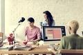 Teamwork Together Professional Occupation Concept