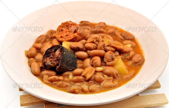 Bean stew - Stock Photo - Images