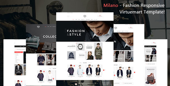 Milano - Fashion Responsive Virtuemart Template