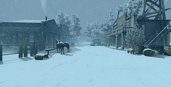 Download Wild West City In Winter nulled download