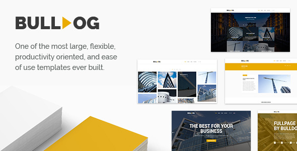Bulldog - Construction & Architect & Building - Multipurpose