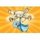 Drone Quadcopter Delivery of a Newborn Baby
