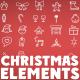 Minimal Christmas Icons