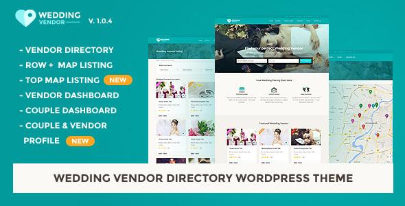 Vendor Directory WordPress Theme | Wedding Vendor
