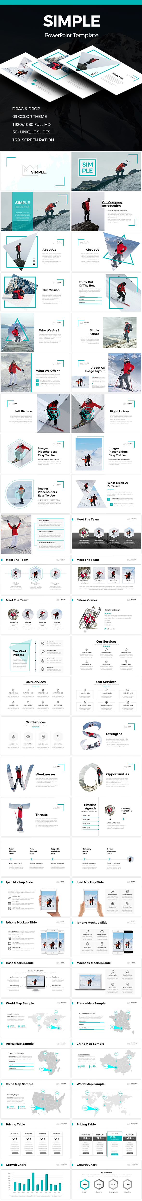 Simple - Clean Powerpoint Template