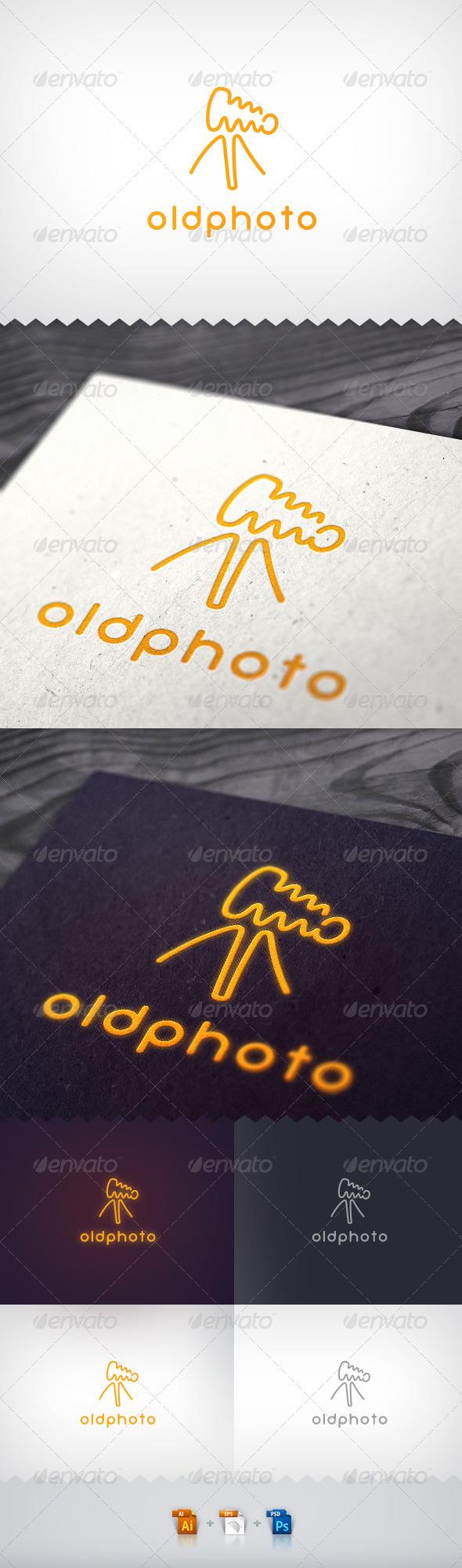 GraphicRiver Old Photo Camera Neon Logo 1871590